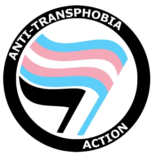 Bandeira Anti Transfobia
