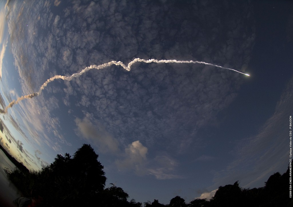 Credits of ArianeSpace